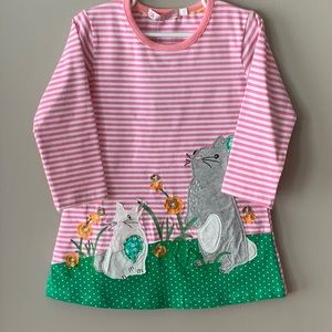 NWT Adorable Spring Bunny Dress 18 months, 2T & 3T